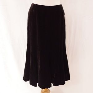 Jones New York Collection Velour Skirt NWT- Sz. 6